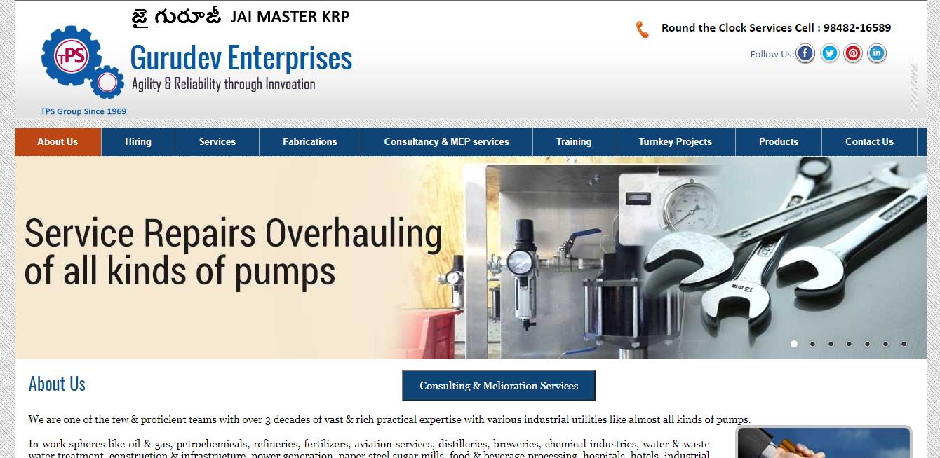 pumps repairing