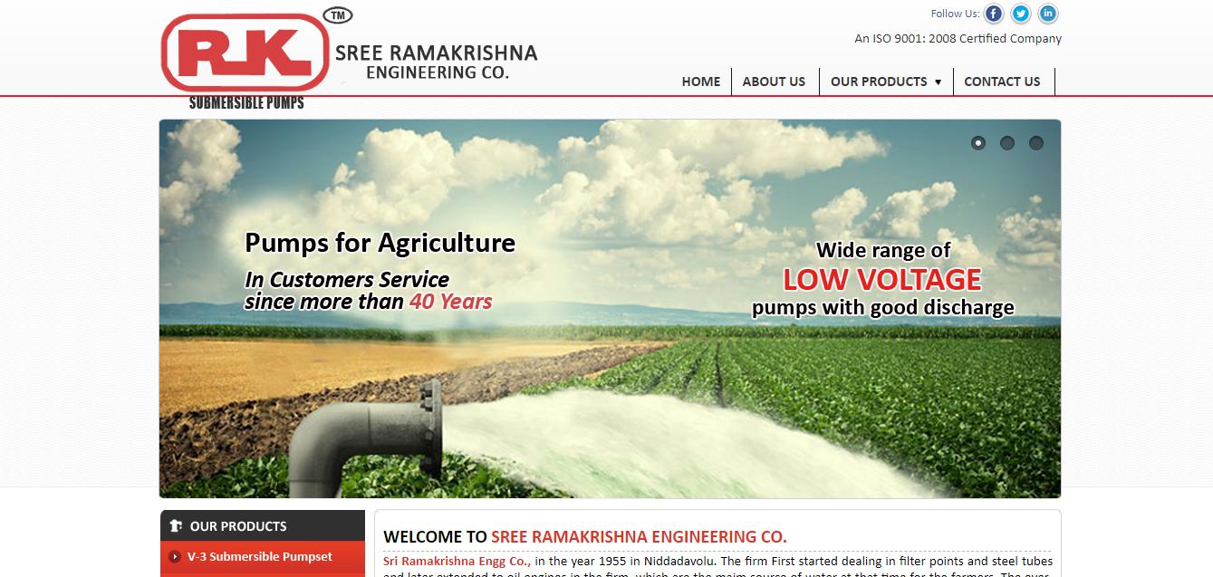 sree ramakrishna engineering comapny